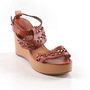 Chloe Wedge Sandals Size 40.5